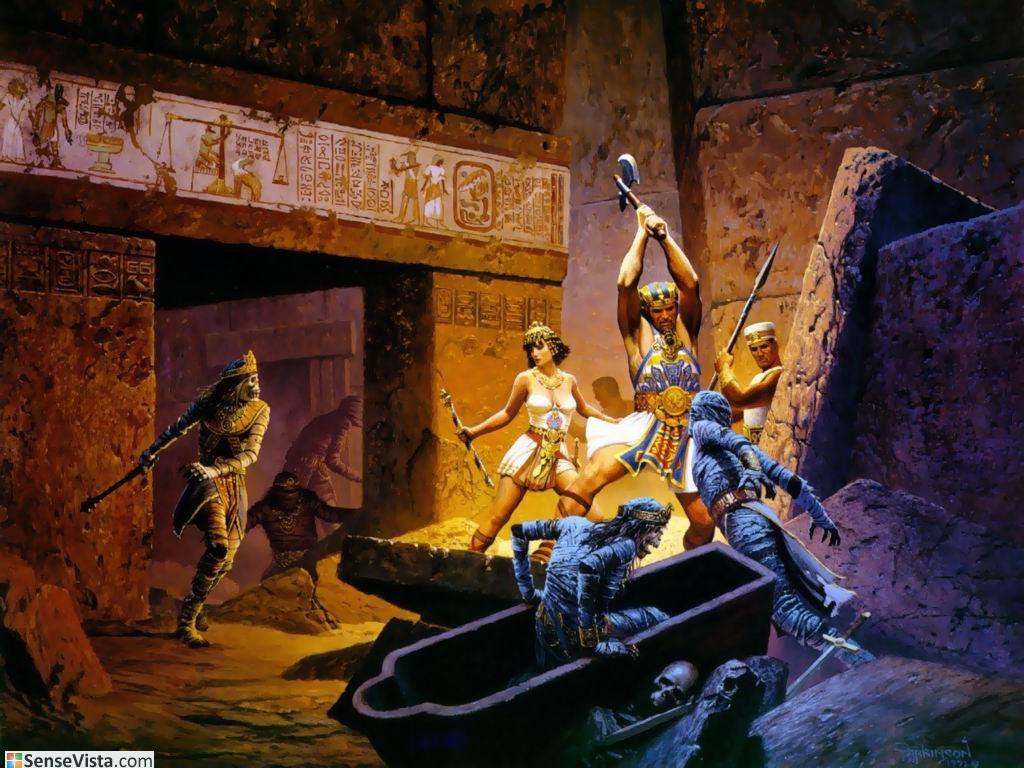 egypt mummies tombs -#main