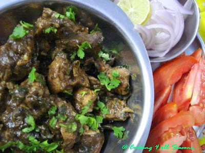 Pepper Chicken Curry ~ Too hot to handle!