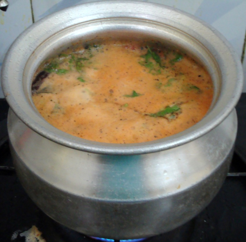 how to make rasam in home