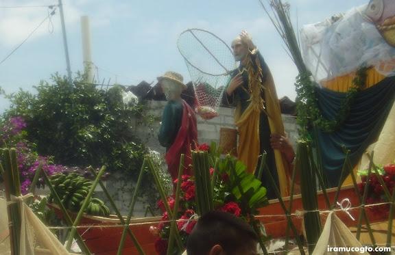 Dia de San Pedro y San Pablo: patrones pescadores de Irámuco Gto