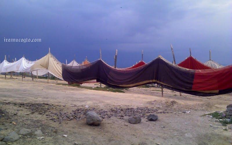 Redes de pesca lago de cuitzeo Irámuco, Gto