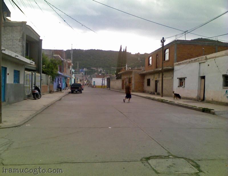 Calles de Iramuco Gto
