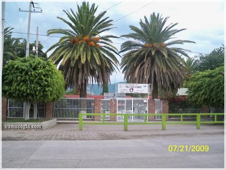 Escuela Primaria Melchor Ocampo de Iramuco, Gto