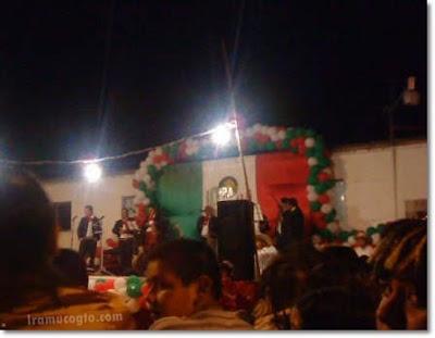 Grito de Independecia en Iramuco, Gto