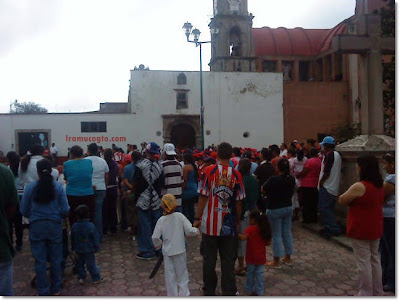 El grito de independencia 2010 en Irámuco