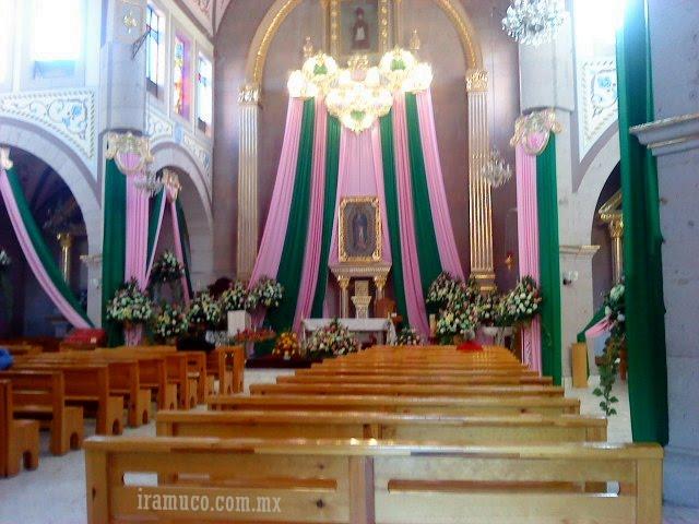 Iglesia san eronimo de Iramuco, Gto, diciembre 2010
