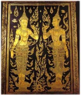 Thai mural