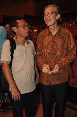 Suherman dan Ketua Sena Wangi Bapak Solichin