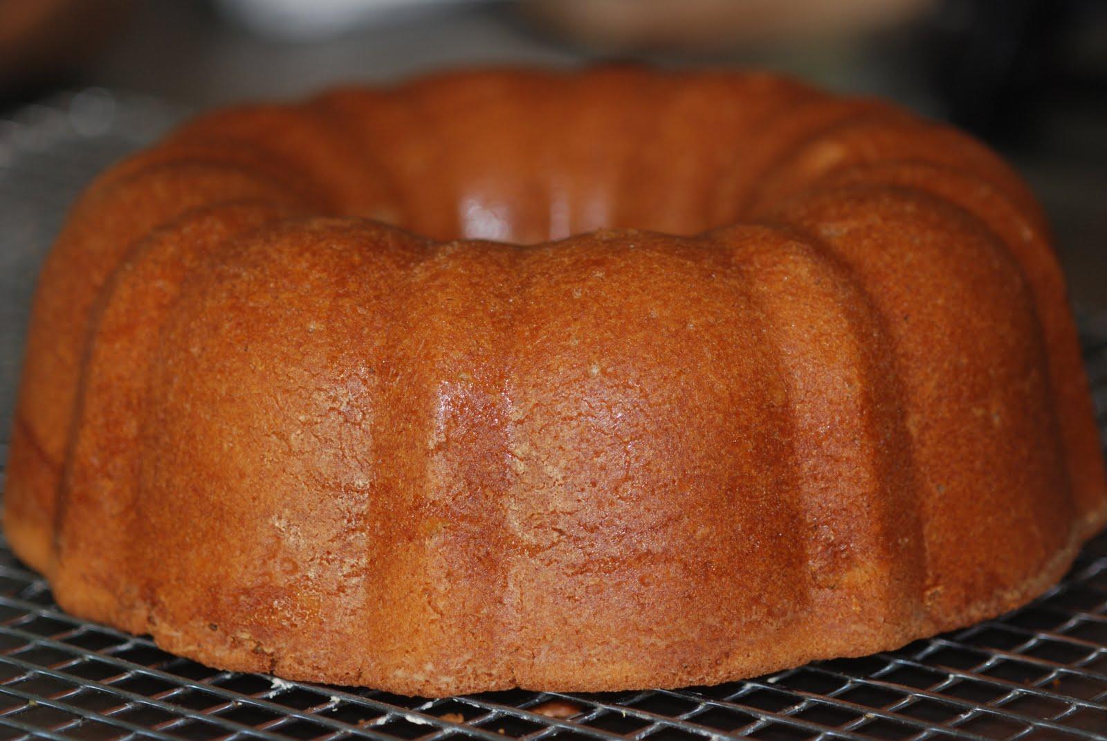 Pound Cake Using Powdered Sugar