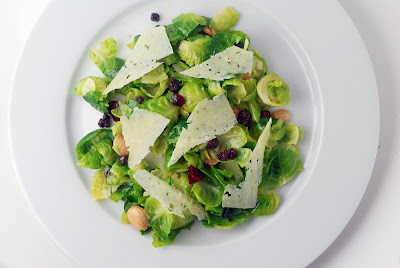 Vegetable Matter: Brussels Sprout Salad with Manchego Cheese and ...