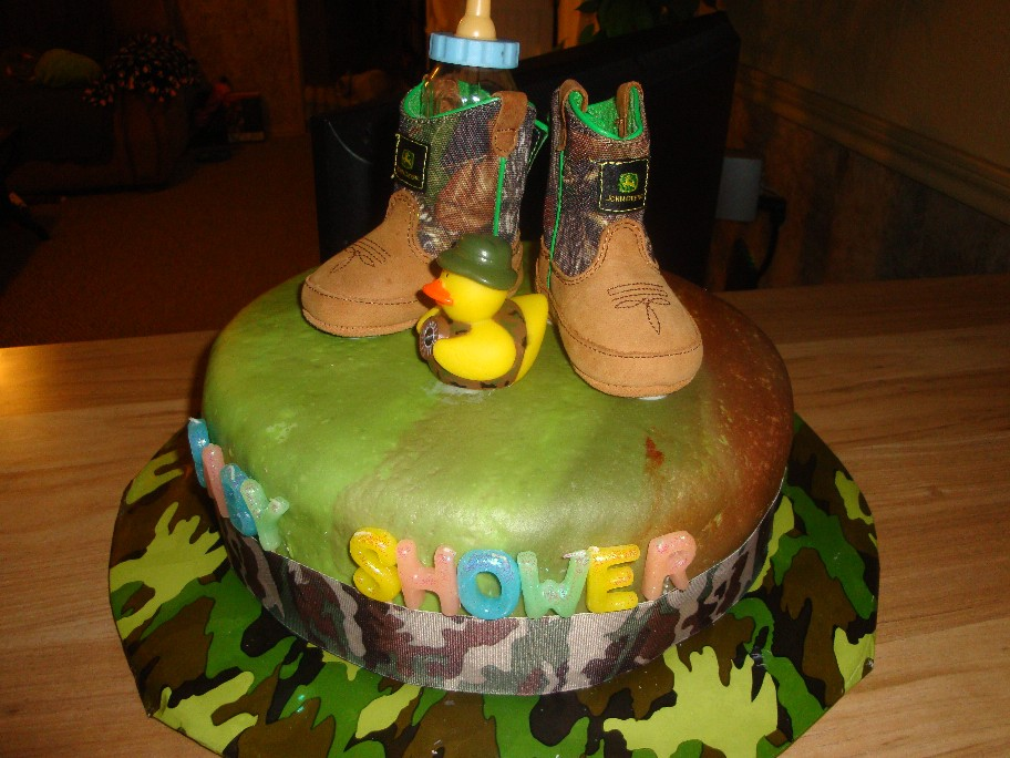 blue camo baby shower camo baby shower cake ideas