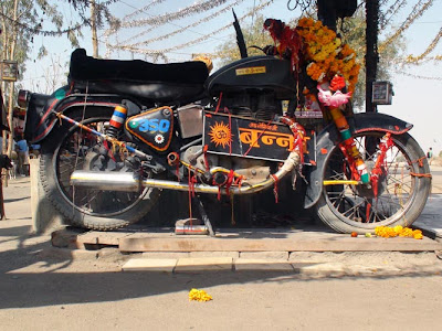 Motorcycle baba