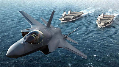 Inglaterra construye su portaaviones.