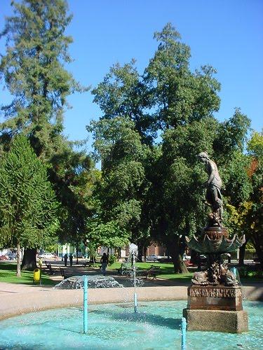 Pileta principal, plaza de armas