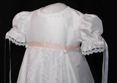 Christning Gowns on Petite Parfait  A Custom Baptism Gown