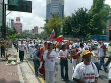 Esta  es la marcha por la Justa Paz