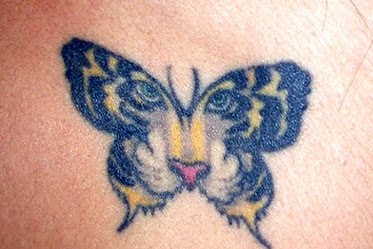 tiger butterfly tattoo images