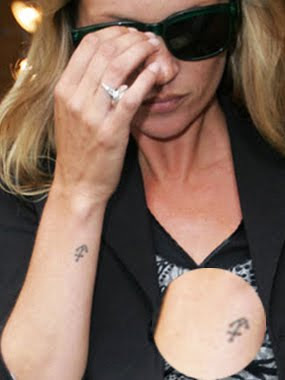 kate moss tattoo images