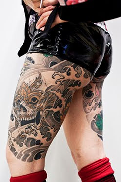 full body art tattoo image