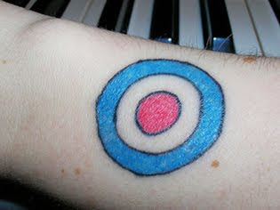 bullseye tattoo design images