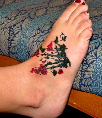 Gallery Phoenix Tattoo Design: Foot Tattoos For Men