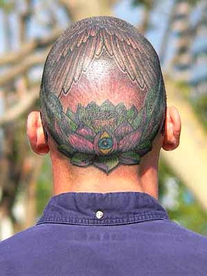 image of skinhead tattoo