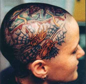 skinhead tattoo images
