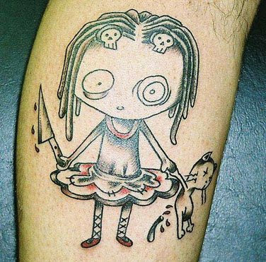 Tag : cartoon tattoos,mr cartoon tattoo artist,mr cartoon tattoos,cartoon