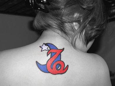 tribal capricorn tattoo images