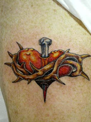 sacred heart tattoo images