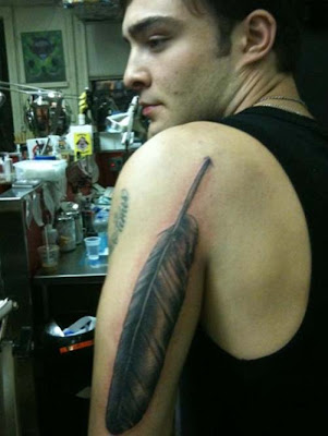 Ed westwick new arm tattoo designs