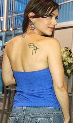 picture of alyssa milano all tattoo