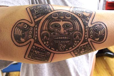 aztec tattoo sign pictures