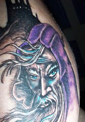 fantasy wizard tattoos