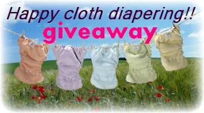 Happy cloth diapering giveaway