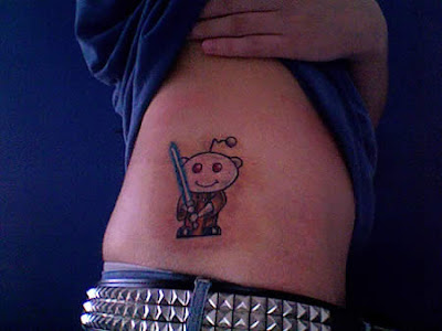 Hilarious Geek Tattoos Tattoos For Blog Addicts Only