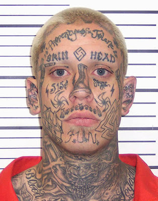 14 Most Unfortunate and Cool Tattoos for a Mugshot