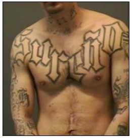 Beautiful USA's Criminal Gangs Tattoos ~ CRAZY PICS !