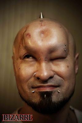 Body Modification Donut Head