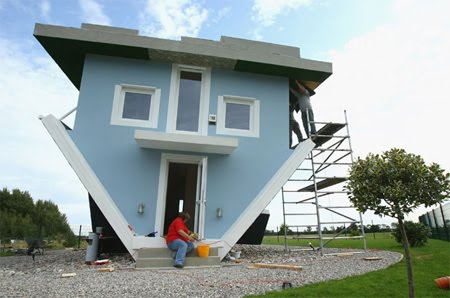 Creative Upside Down House