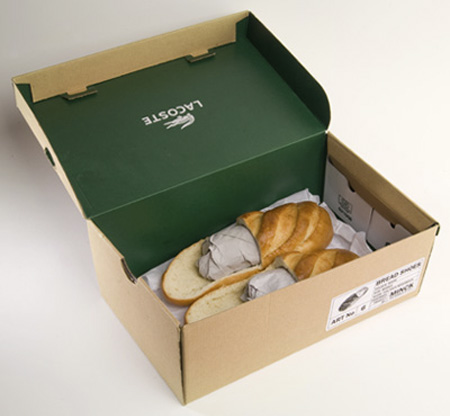 Edible Bread Shoes