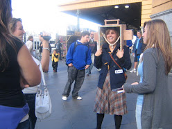 Interview at Flinders Street Station