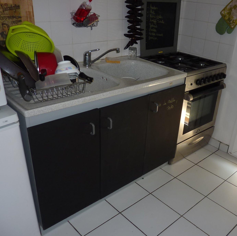 Viers de cuisine viers de cuisines - Stickers meuble cuisine uni ...