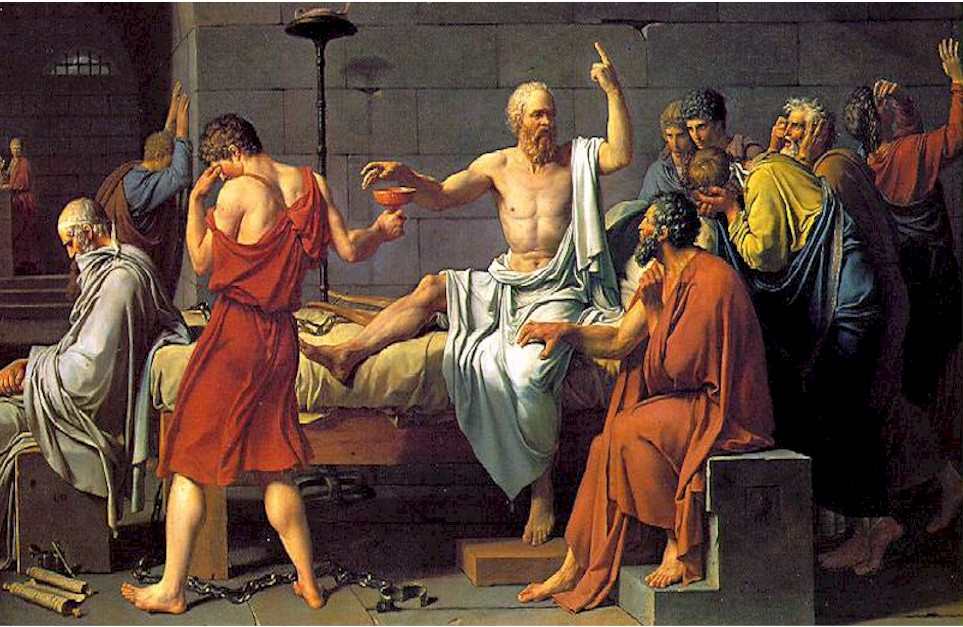 a discussion of socrates beliefs that he is the only true statesman in athens