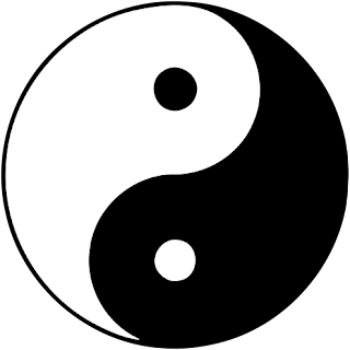 Ra u gged a monochromatic world for Lit yin yang