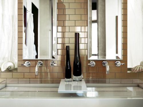 Some Inteior Design Ideas Sample For Bathroom Mirror Cool Faucets Also If You Have Time Check The Makeup Twins