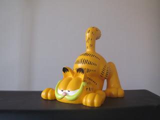Garfield prêt à bondir ou à se lever ?