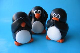 LEs trois pingouins de la sagesse - http://fliepsiebieps.deviantart.com/art/See-No-Evil-3-Wise-Penguins-71274670