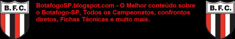 Botafogo SP - Estatísticas