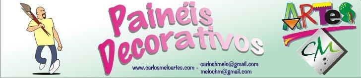Painéis Decorativos Carlos Melo Artes